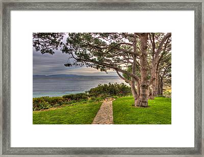 California Tranquility Framed Print
