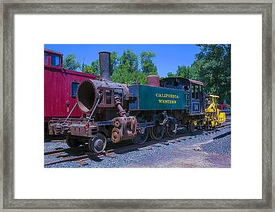 California Western Number 14 Framed Print