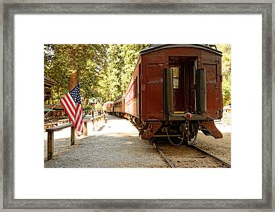 California Western Railroad Framed Print