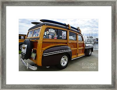 California Woodie 2 Framed Print by Bob Christopher