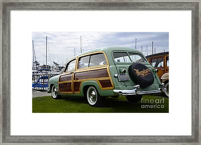 California Woodie 3 Framed Print by Bob Christopher