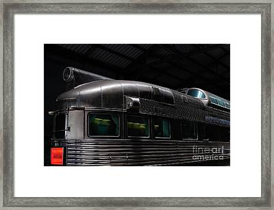 California Zephyr Framed Print by Andres LaBrada