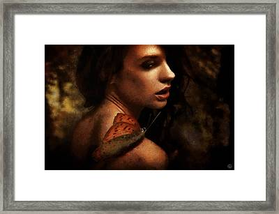 Call For Inspiration Framed Print by Gun Legler