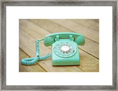 Call Me Framed Print by Kay Pickens