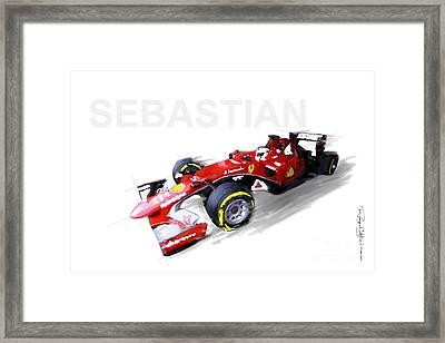 Call Me Sebastian Framed Print