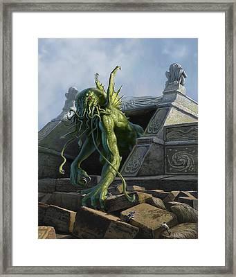 Call Of Cthulhu Framed Print