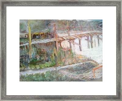 Call Of The Bridge Framed Print