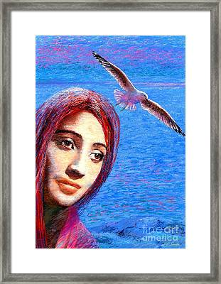 Call Of The Deep Framed Print