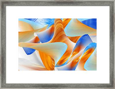 Call Of The Sea Framed Print
