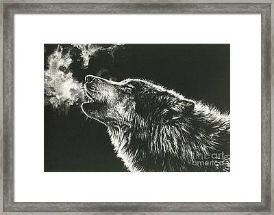 Call Of The Wild Framed Print by Beth Hoselton