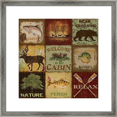 Call Of The Wilderness Framed Print by Jean Plout