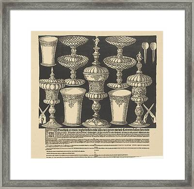Call To Register For Target Shooting And Lottery Framed Print by Litz Collection