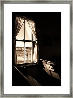 Framed Print featuring the photograph Call To Worship by Jim Garrison