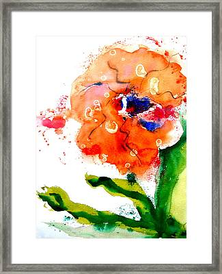 Call Up The Wind Framed Print by Beverley Harper Tinsley
