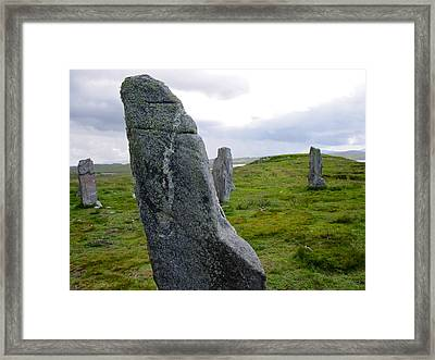 Callanish 3 Framed Print