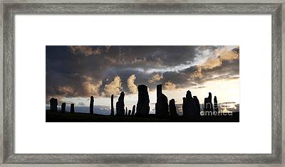Callanish Standing Stones Framed Print by Tim Gainey