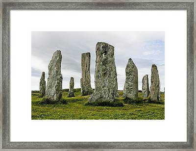 Callanish Standing Stones Framed Print by Toby Adamson