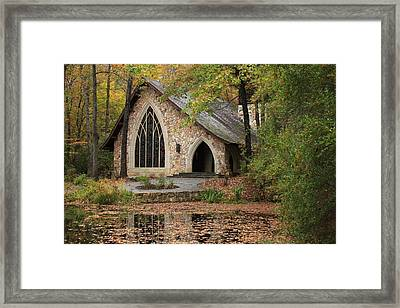 Callaway Chapel Framed Print by Mountains to the Sea Photo