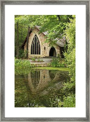 Framed Print featuring the photograph Callaway Gardens Chapel - Pine Mountain Georgia by Mountains to the Sea Photo