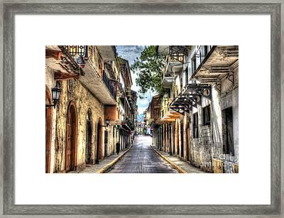 Calle 8a Este Framed Print