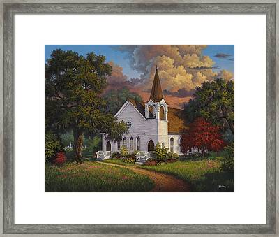 Called To Praise Framed Print by Kyle Wood