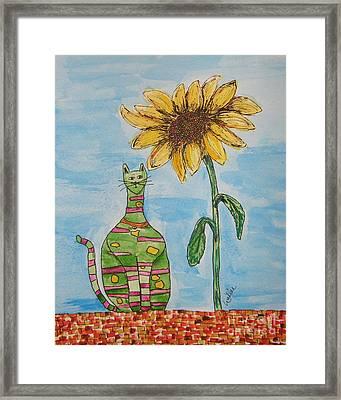 Callie Framed Print by Marcia Weller-Wenbert