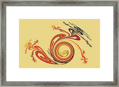 Calligraphy Framed Print