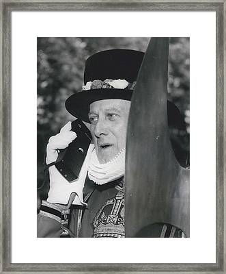 Calling All Yeomen Framed Print by Retro Images Archive