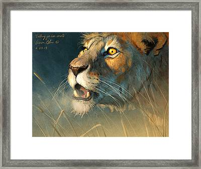 Calling For Her Mate Framed Print by Aaron Blaise