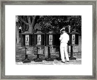 Calling Home Framed Print by Donnie Freeman