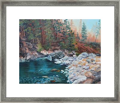 Calling Me Home Framed Print by Patricia Olson
