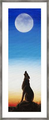 Calling The Dawn Framed Print