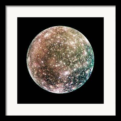 Galilean Moons Framed Prints
