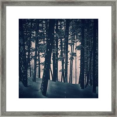 #callmeforest Framed Print