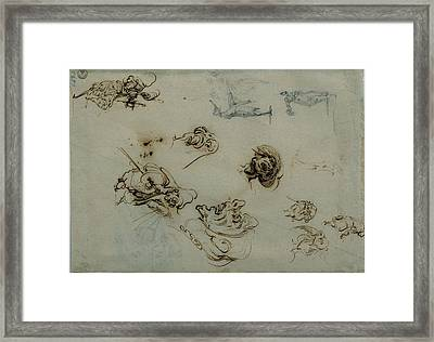 Callot Jacques, Caricatures Framed Print by Everett