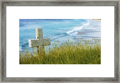 Calm Framed Print by Aged Pixel