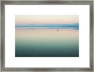 Calm As Is Framed Print by Jurgen Lorenzen
