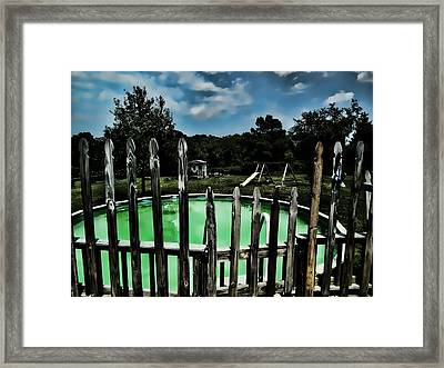 Calm Before The Storm 1 Framed Print