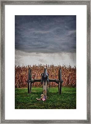 Calm Before The Storm 4 Framed Print by Rhonda Negard