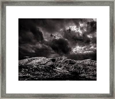 Calm Before The Storm Framed Print by Bob Orsillo
