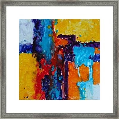 Calm Before The Storm Framed Print by Kelley Smith