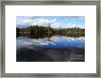 Calm Before The Storm Framed Print by Larry Ricker