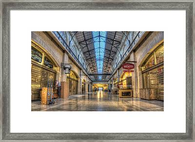 Calm Before The Storm Framed Print by Peter Thoeny