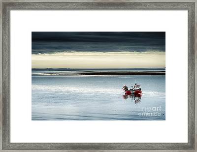 Calm Before The Storm  Framed Print by Tim Gainey