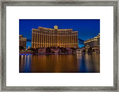 Calm Bellagio Framed Print by Zachary Cox