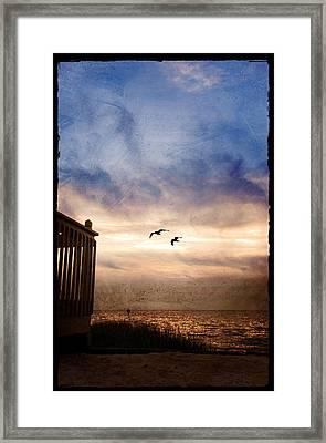 Calm Framed Print by Beverly Stapleton