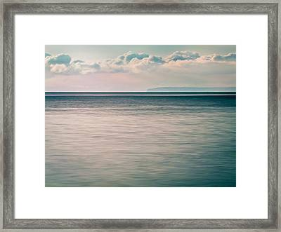 Calm Blue Ocean Framed Print