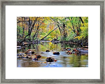 Calm Cove Framed Print by Frozen in Time Fine Art Photography