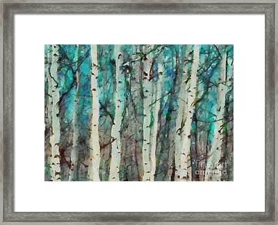 Calm Framed Print by Elizabeth Coats