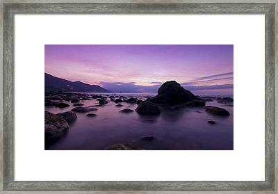 Calm Evening Framed Print
